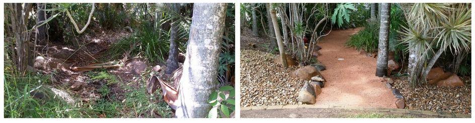 Deco garden path